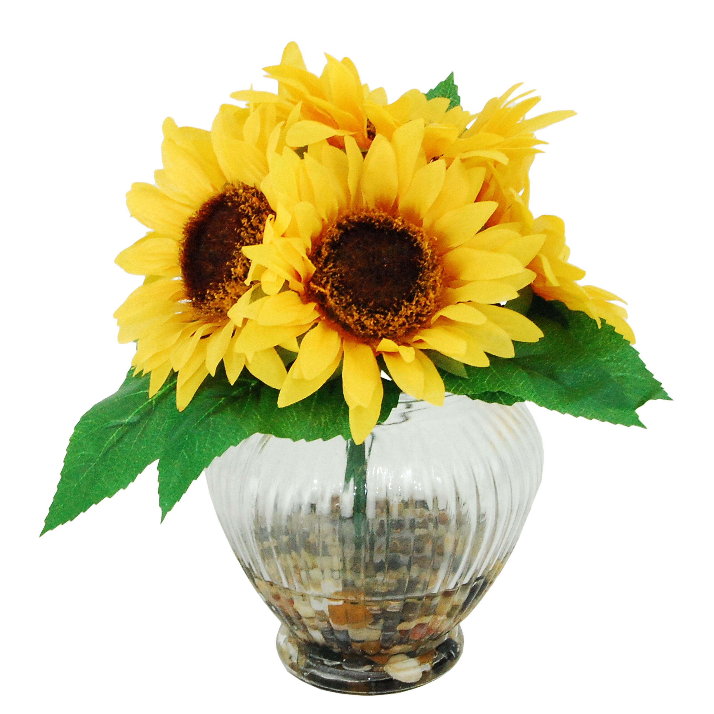 LCGFlorals River Rocks and Sunflowers Floral Arrangements in ...