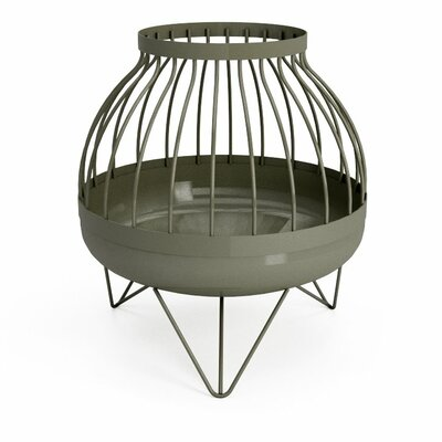 Curonian Nida Solid Steel Wood Burning Fire Pit