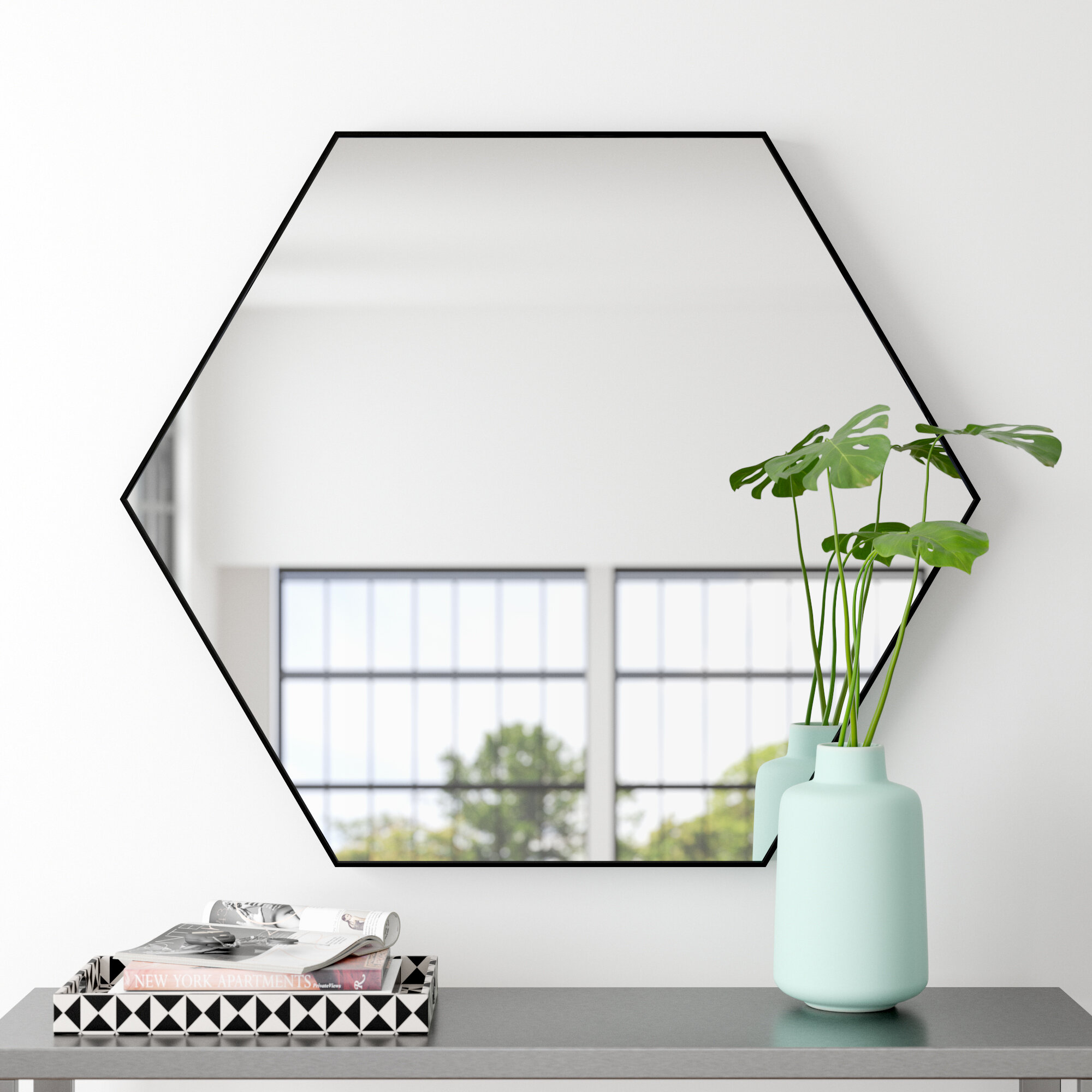 Modern Contemporary Wall Mirror Reviews Allmodern