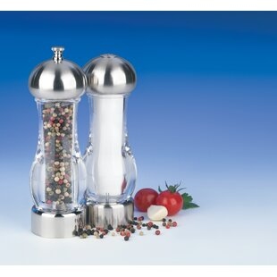 Pepper Mill & Salt Shaker Set