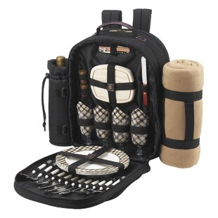 Picnic Backpack Picnic Baskets Backpacks You Ll Love In 2021 Wayfair