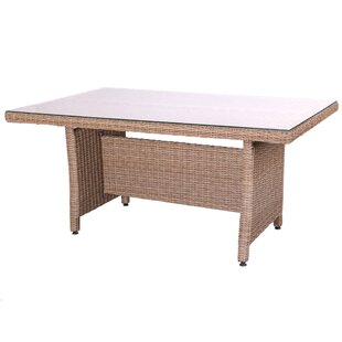 Niki Rattan Dining Table By Sol 72 Outdoor