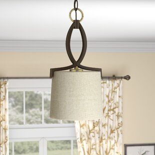 Darby Home Co Myrtle 1-Light Drum Pendant