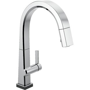 Delta Pivotal Pull Down Touch Single Handle Kitchen Faucet with Touch20 Technology
