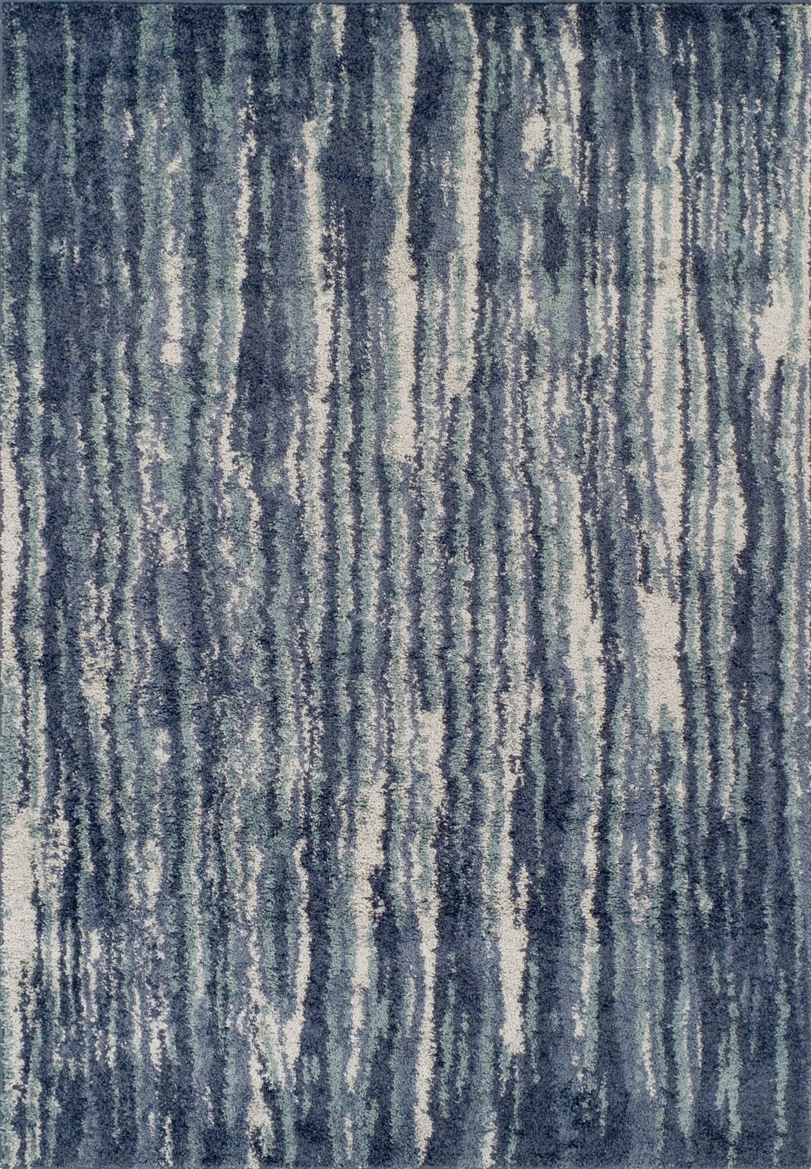 Williston Forge Samella Abstract Blue Gray Area Rug Reviews Wayfair