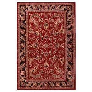 Artios Red/Black Area Rug