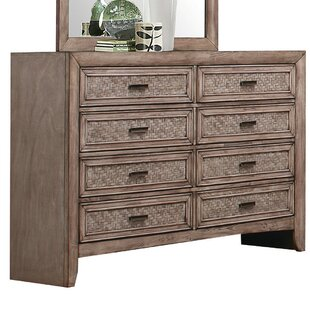 LaTayna 8 Drawer Double Dresser