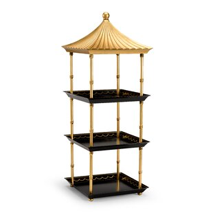 33 x 12.3 Pagoda Shelf by Chelsea House