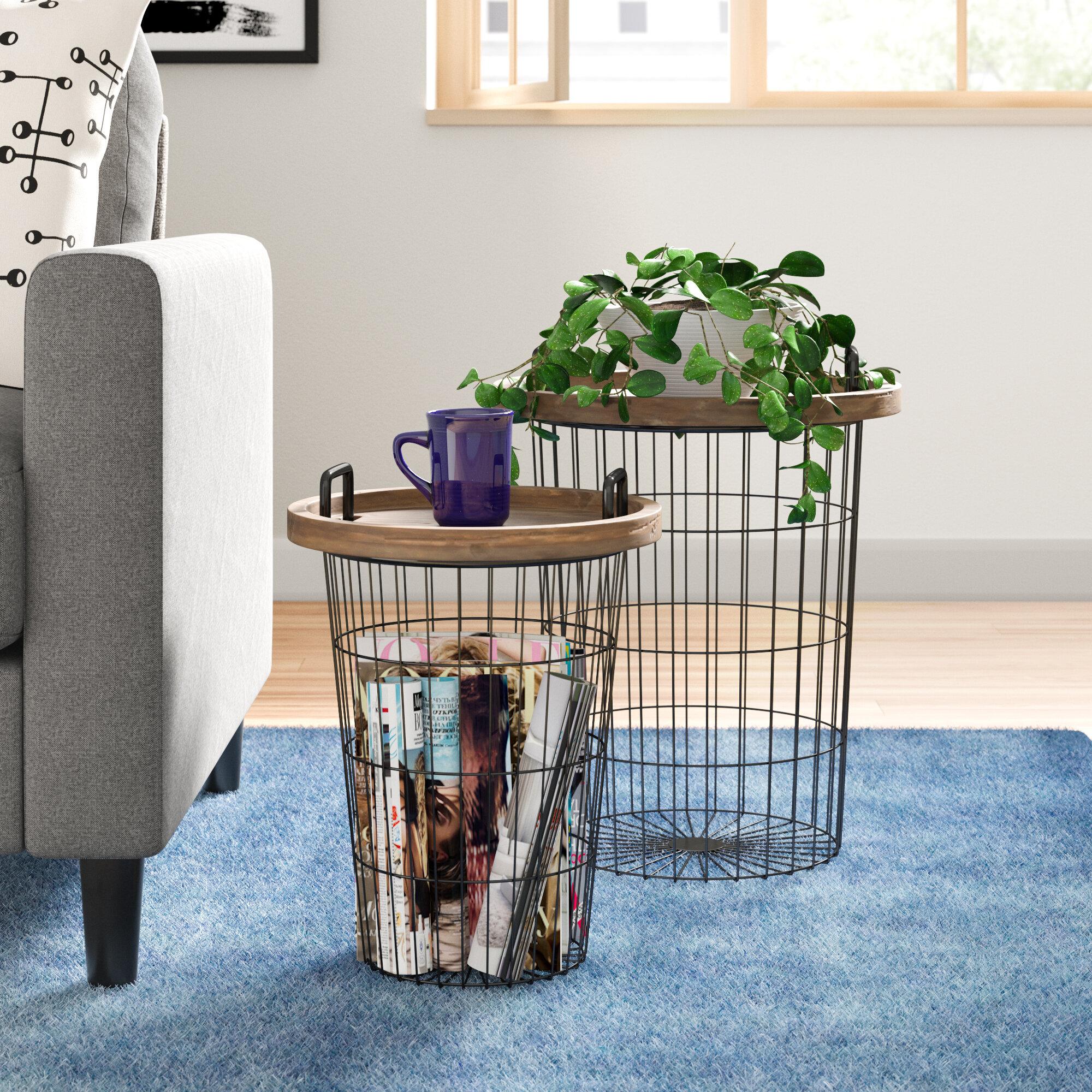 Brandi Wooden Nesting Table
