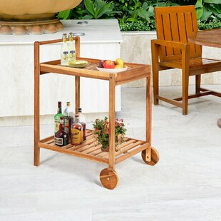 Macpherson Rolling Trolley Kitchen Cart by Millwood Pines