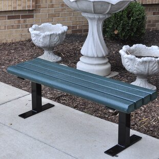 Frog Furnishings Creekside Recycled Plastic Park Bench