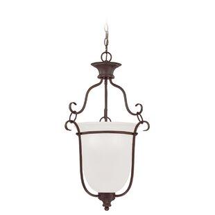 Charlemont 3-Light Urn Pendant by Fleur De Lis Living