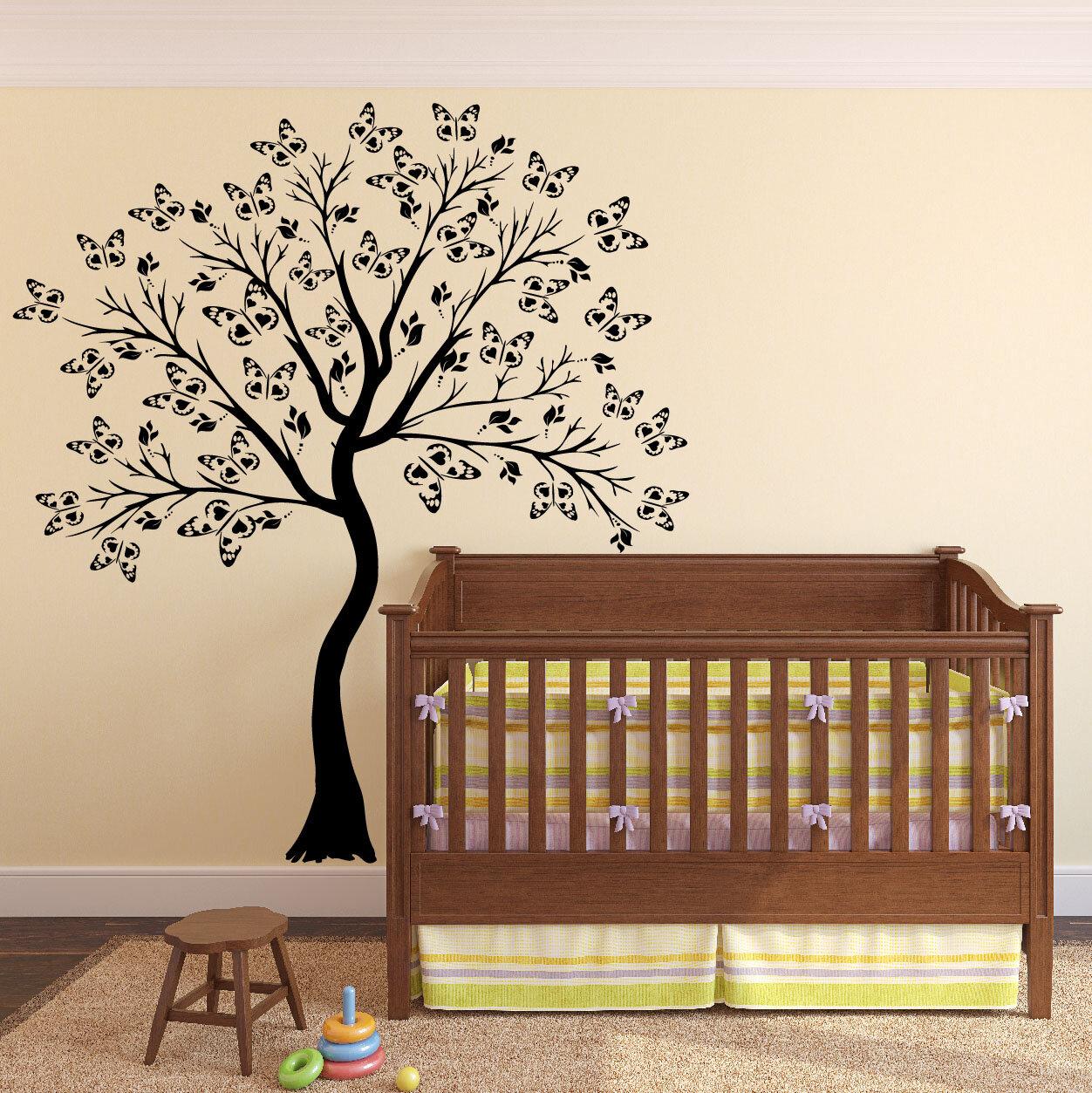 Cherry Blossom Tree Baby Nursery Decal