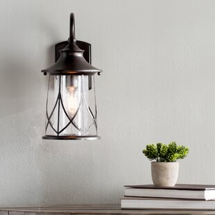 Great choice Pembroke 1-Light Outdoor Wall Lantern By Bungalow Rose