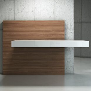 Hailsham Floating Desk by Orren Ellis Best Design