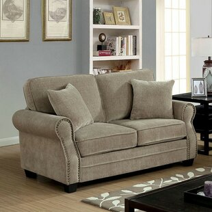 Shop Robillard Transitional Loveseat by Charlton Home
