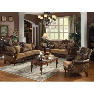 Mccauley 3 Piece Configurable Living Room Set