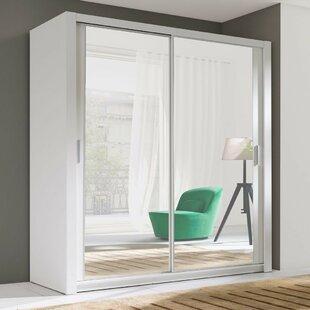 Oktay 2 Door Sliding Wardrobe By Ebern Designs