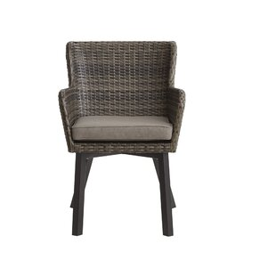 Mcraney Patio Chair With Cushion (Set Of 2) by Ivy Bronx Modern