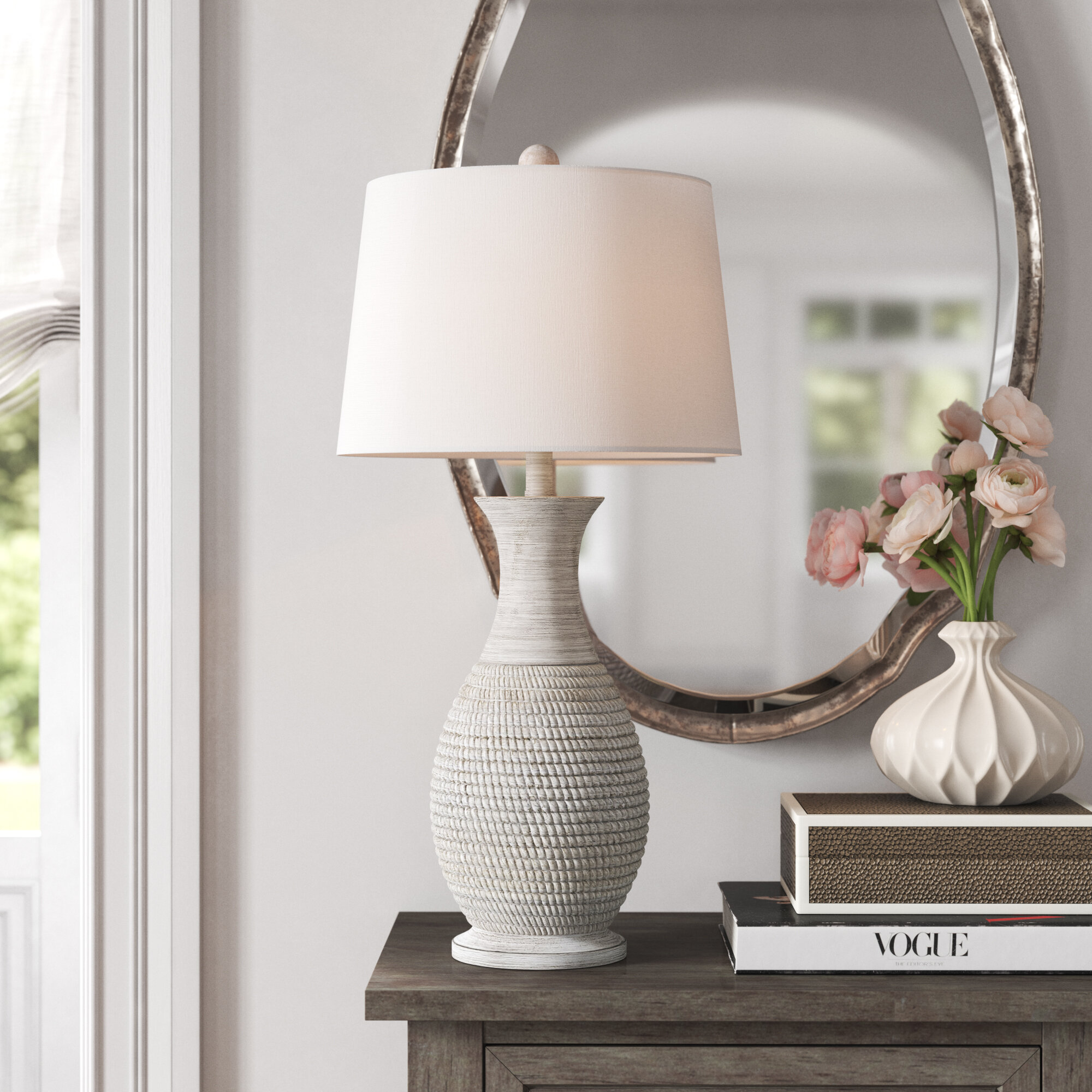 Farmhouse Table Lamps Wayfair