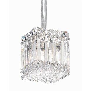 Schonbek Quantum 2-Light Crystal Pendant