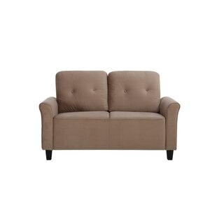 Price Check Glasser Loveseat by Charlton Home Reviews (2019) & Buyer's Guide