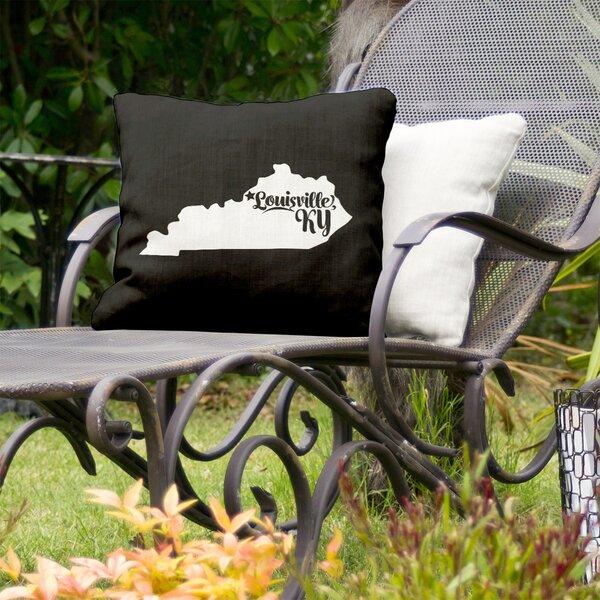 East Urban Home Kentucky Indoor Outdoor Throw Pillow Wayfair