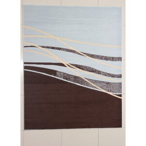 Mischari Brown Area Rug