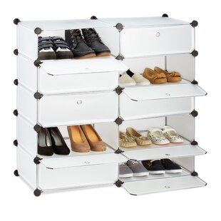 20 Pair Shoe Storage Cabinet By Symple Stuff