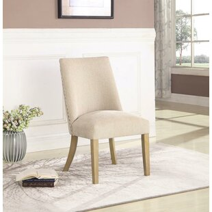 Elsie Upholstered Dining Chair (Set of 2) One Allium Way
