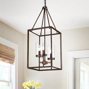 Wendler Cage 3 Light Foyer Pendant