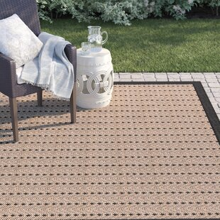 Barham Beige/Black Indoor/Outdoor Area Rug