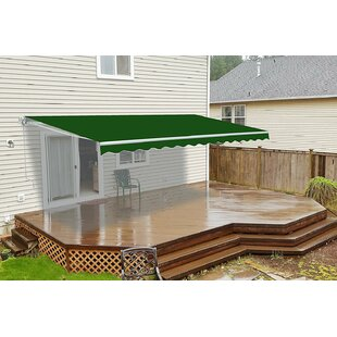 ALEKO 12 ft. W 10 ft. D Retractable Patio Awning