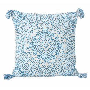 Cherree Reversible Dot Cotton Throw Pillow