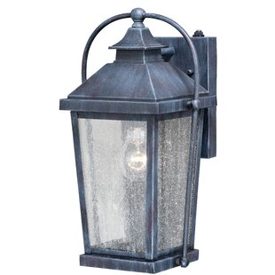 Goldie Outdoor Wall Lantern by August Grove