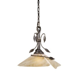 Fleur De Lis Living Brott 1-Light Pendant