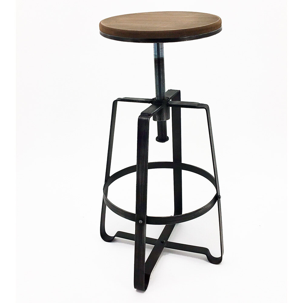 Fabulous Turner Adjustable Height Bar Stool Pabps2019 Chair Design Images Pabps2019Com