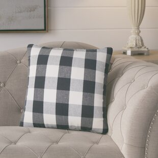 Berkeley Plaid Cotton Throw Pillow (Set of 2)