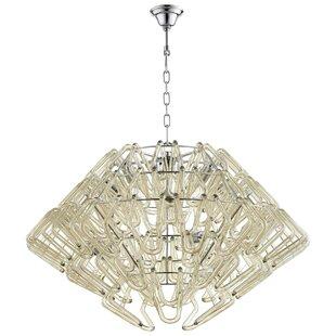 Roswell 6-Light Geometric Chandelier by Cyan Design