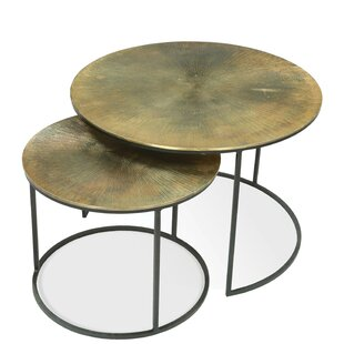 Xanthe 2 Piece Nesting Tables by 17 Stories