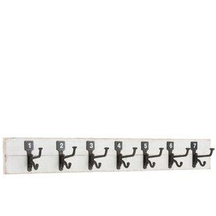 Roulier Wall Mounted Coat Rack By Fleur De Lis Living