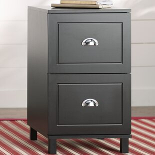 Orange City 2 Drawer Filing Cabinet