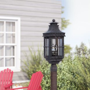 Roden Outdoor 3-Light Lantern Head by Loon Peak