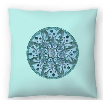 East Urban Home Patricia Pino Circus Girl Throw Pillow Wayfair