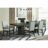 Nieto 7 Piece Extendable Solid Wood Dining Set by Brayden Studio®