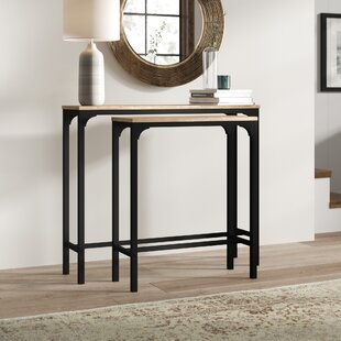 2 Piece Console Table Set By Borough Wharf