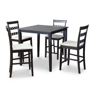 Latitude Run Calla 5 Piece Counter Height Dining Set