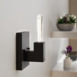 Jeterson 1-Light Bath Sconce by Wrought Studio