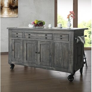 Hinson Kitchen Island Gracie Oaks