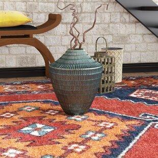 Larkson Blue Ceramic Table Vase